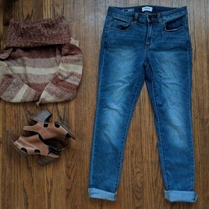 Sonoma Goods Supersoft Mid-Rise Skinny Jeans